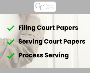 Process Server In Manchester | North West | C&C Process Servers